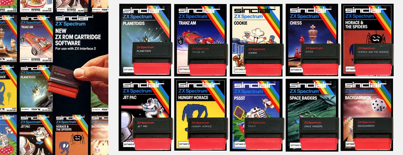 ZX Spectrum ROM Cartridges