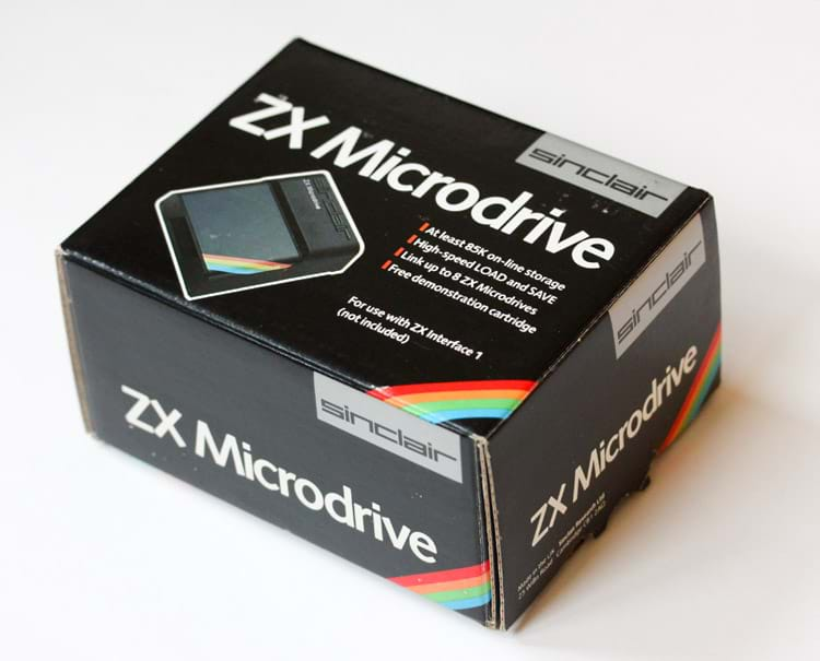 ZX Microdrive Boxed