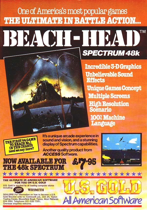 Beach Head Advert