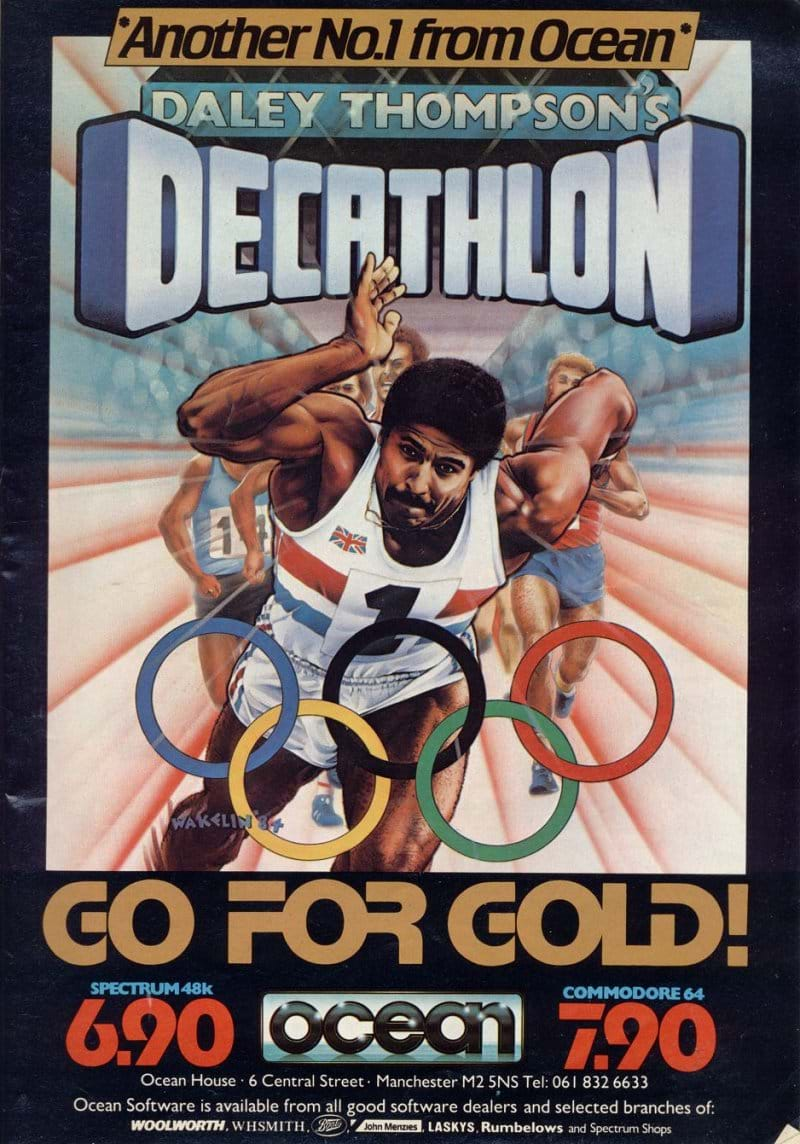 Daley Thompsons Decathlon Advert