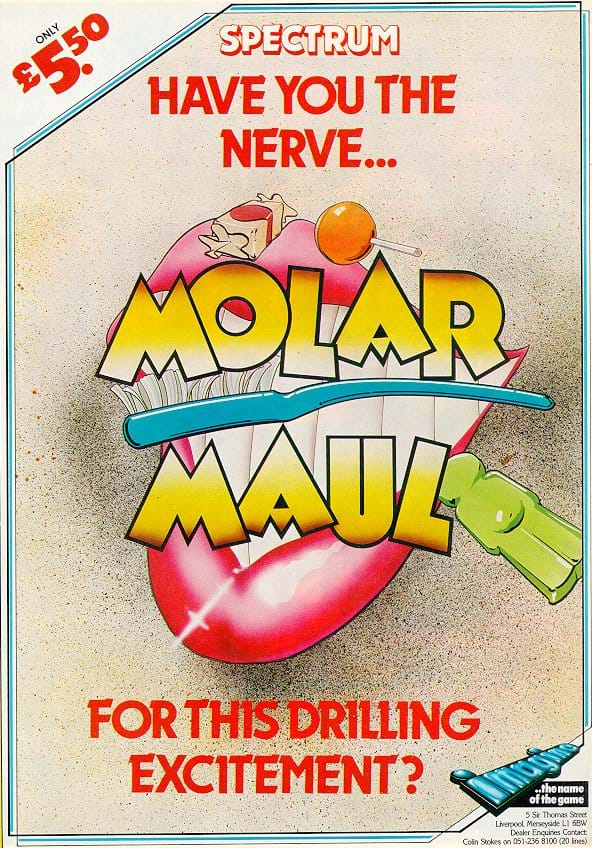 Molar Maul Advert