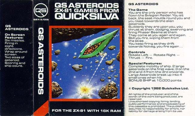 QS Asteroids Cover